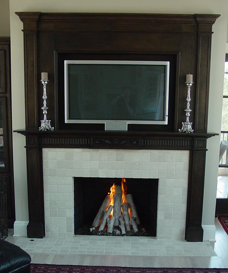 Gas Fireplace gas fireplace logs : Custom Solutions – Vented – Rasmussen Gas Logs