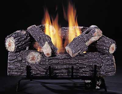 Single Burner Series Gas Logs