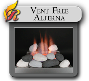 Alterna Vent Free gas logs