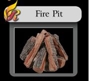 Firepit logs