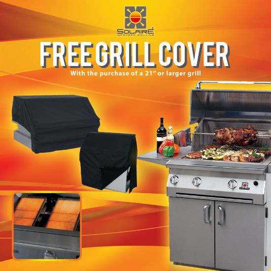 Free Grill Cover Promotion